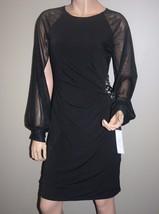 Womens Stretch Cocktail Dress, Black, Size: S (4) - $64.99