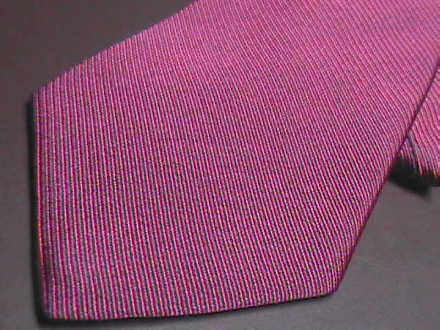 Brooks Brothers Makers Neck Tie Tight Diagonal Stripes Silk Woven in Italy
