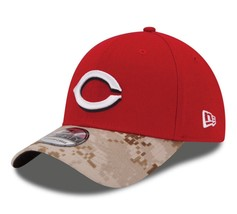Cincinnati Reds New Era 39Thirty Memorial Day Flexfit Fitted M/L Cap Hat - ₹1,961.49 INR