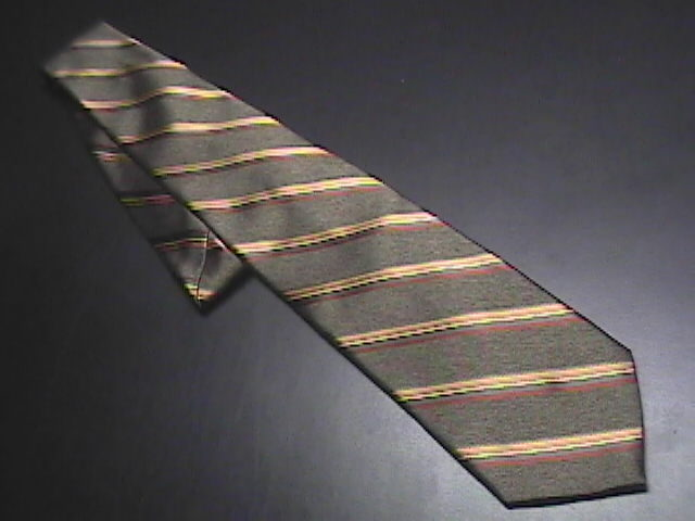 Tie jos a bank signature collection greens with vertical stripes 01