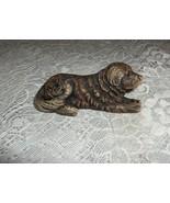 Vintage Labrador Retriever Puppy Arts in Stone Holland Figurine Paperweight - $24.75