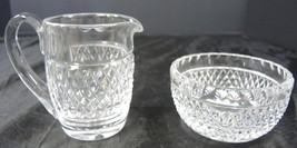 Waterford Crystal Creamer & Sugar * Cashel Pattern - $26.59