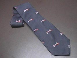 Cervantes Silk Neck Tie Blues Braves Major League Baseball Braves Tomaha... - $10.99
