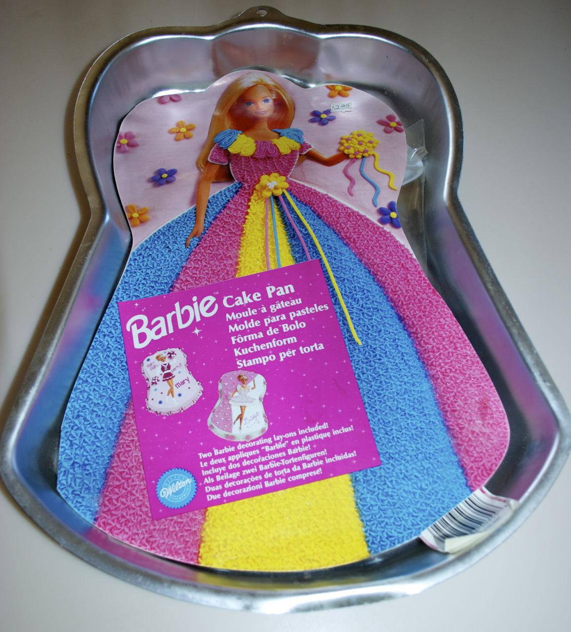 Barbie Cake Pan Instructions