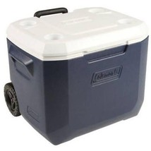 Wheeled Cooler Ice Chest Coleman Xtreme 50-qt. Cooler With Wheels Indoor... - $49.36