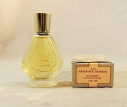 Avon Vintage Cotillion Splash Cologne 1988 0.5 oz new w original box  - $9.89