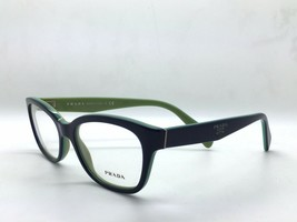 used PRADA VPR 20P COLOR OAB-1O1 BLUE PLASTIC EYEGLASSES FRAME SIZE 52MM - $105.60
