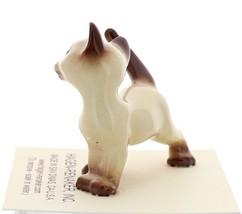 Hagen-Renaker Miniature Cat Figurine Siamese Papa Chocolate Point image 2