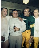 Vince Lombardi Starr Hornung Taylor Green Bay Packers 8X10 Color Footbal... - $6.99