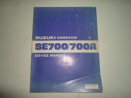 Suzuki Generator SE700/700A Se 700 700A Service Repair Shop Manual 995009050001E - $18.93