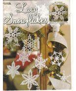 Lacy Snowflakes Crochet Patterns  35 Designs Brenda S. Greer - $8.99