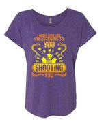 In my Head I'm Shooting You T Shirt, I'm Listening To You T Shirt, Cool ... - $27.99+