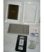"PetSafe Classic Pet Door Aluminum Frame Small Pets up to 12 lbs 7.5"" x 5 White - $33.20"
