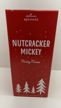 "Hallmark 2015 Disney Mickey Mouse Nutcracker 14"" Tall In Box LIMITED EDI... - $39.55"
