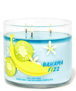 Bath & Body Works Bahama Fizz Three Wick.14.5 Ounces Scented Candle - $23.95