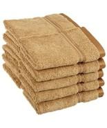 10-Piece Toast Superior Long Staple Cotton Face Towel Washcloth Set 600G... - $29.65