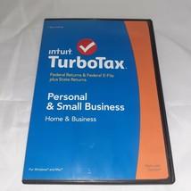 2015 Intuit™ TurboTax™ Home & Business Schedule C Federal CD Windows & Mac - $47.99