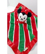 Minnie mouse Hallmark Itty Bitty plush baby security blanket red green C... - $7.12