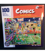 Jigsaw Puzzle 100 piece Comics Anyone for Tennis 2015 NEW - $6.99