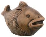 Ally Earthenware Fish-Shaped Handicraft  Art Piggy Bank