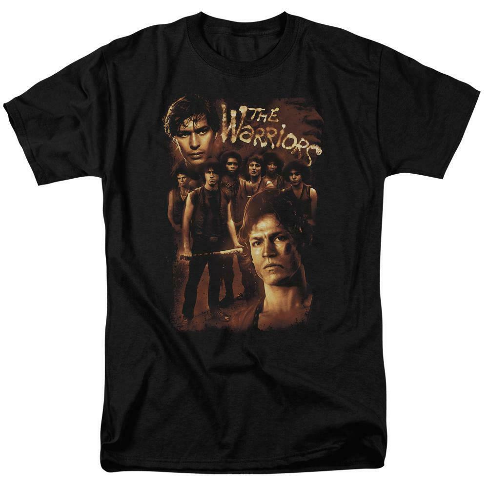 The Warriors t-shirt retro 70s cult film Michael Beck Swan graphic tee PAR490