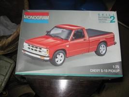 Monogram 1:25 Chevy S-10 Pickup Model Kit - $108.99