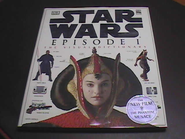 Book star wars episode one the visual dictionary hcdj  01