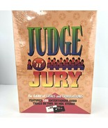 Judge N Jury Board Game Audio Trials on Cassette 1995 Winning Moves New ... - $49.49