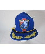 Vintage Snapback Trucker Hat Cap Old Style Beer Patch - $19.79