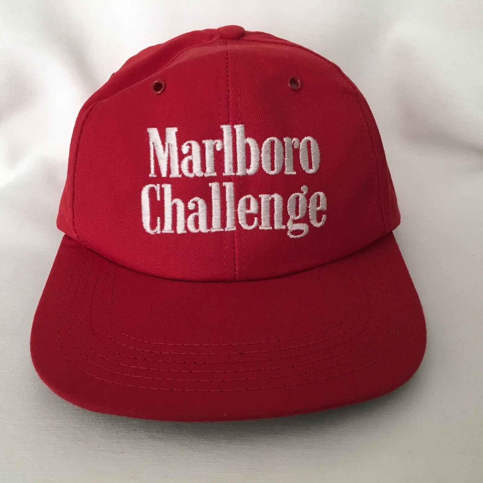 5cb8d73ecb8 Vintage Marlboro Challenge Hat Cap Snapback and 50 similar items. 57