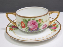 Rosenthal Selb Bavaria Donatello Double Handle Cream Soup Bouillon Cup S... - $31.68