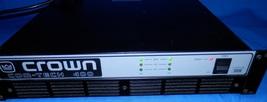 Crown Com-Tech Rackmount 400 Pro 2 Channel Power Amplifier 400W 4/8 Ohm  - $199.99