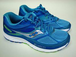Saucony Guide 10 Lt Blue / Blue Running Shoe 10350-1 Womens Sz 7 New - $63.05