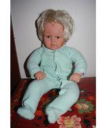 """Lissi Batz Baby Doll Germany German Lifelike 21"""" Puppe N-1053 Brown Eyes... - $29.95"""
