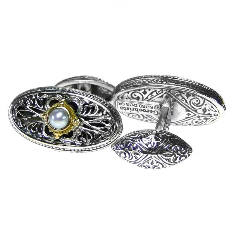 02007115 gerochristo 7115 byzantine medieval cufflinks 1