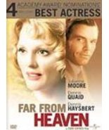 FAR FROM HEAVEN 2003 DVD NEW SEALED QUAID MOORE DRAMA - $3.90