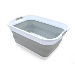 SAMMART Collapsible Plastic Laundry Basket - Foldable Pop Up Storage... - $34.50