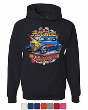 Hot Rod Garage Hoodie Where Dreams are Built US Classic Rebuild Sweatshirt - $28.39+