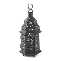 Hanging Lantern, Moroccan Metal Decorative Floor Patio Outdoor Lantern, ... - $20.29