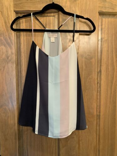 Primary image for Loft Xsmall Striped Cami Top Lined New Without Tags