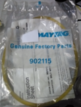 Maytag Genuine Factory Part #902115 Water Pump Belt - $31.99