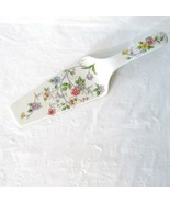 Andrea by Sadek Cake Server Porcelain China Replacement Floral Made in J... - $19.79
