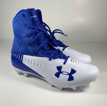 UNDER ARMOUR Highlight Select MC Football Cleats Blue Men's Sz 9 NEW 300... - $28.03