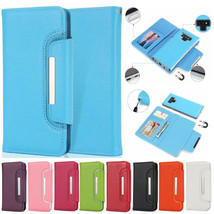 Detachable Flip Magnetic Leather Wallet Case For Samsung S20+ Note 10+ 9 8 5 4 - $91.39