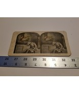 Home Treasure #10 Dreams of Home Stereoview Card Military Soldier Man Sl... - $23.74