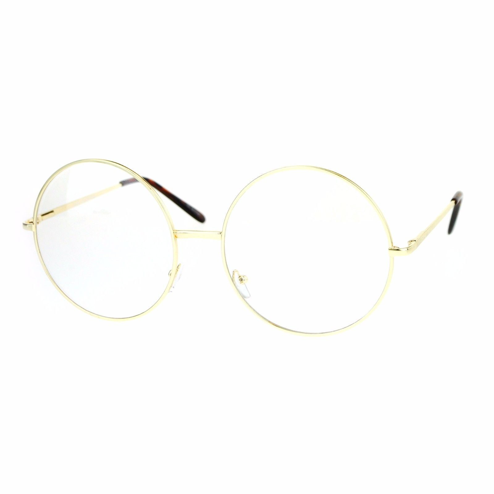 Super Oversized Clear Lens Glasses Round and 50 similar items