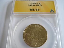 Sacagawea Dollar , 2000-P , MS 65 , Anacs Certified - $15.00