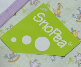 SnoPea Animal Design Hooded Towel Unisex Green Purple Yellow image 4