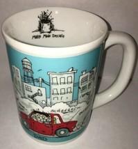 Vintage 1986 Kevin Lahvic MAKE MINE DECAFE Decaf Enesco DAD mug coffee work - $11.54