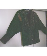 TAJ MAHAL COTTON JACKET SIZE 12 - $50.00